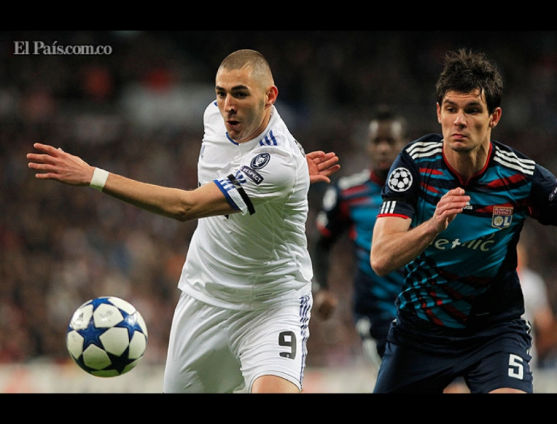 Real Madrid vs. Lyon 12