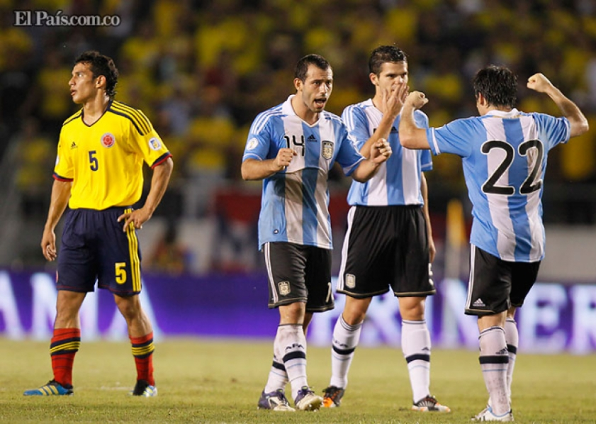 Colombia vs. Argentina 38