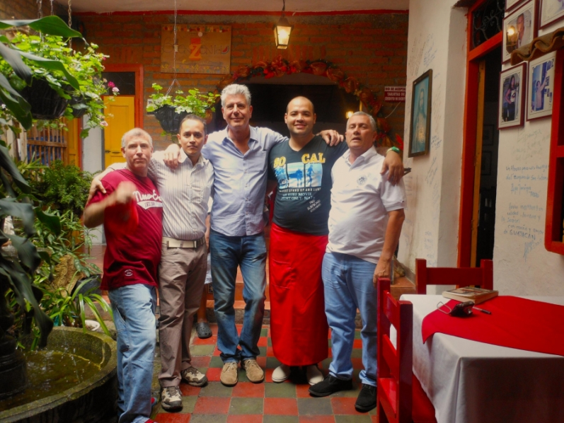 Anthony Bourdain en Cali