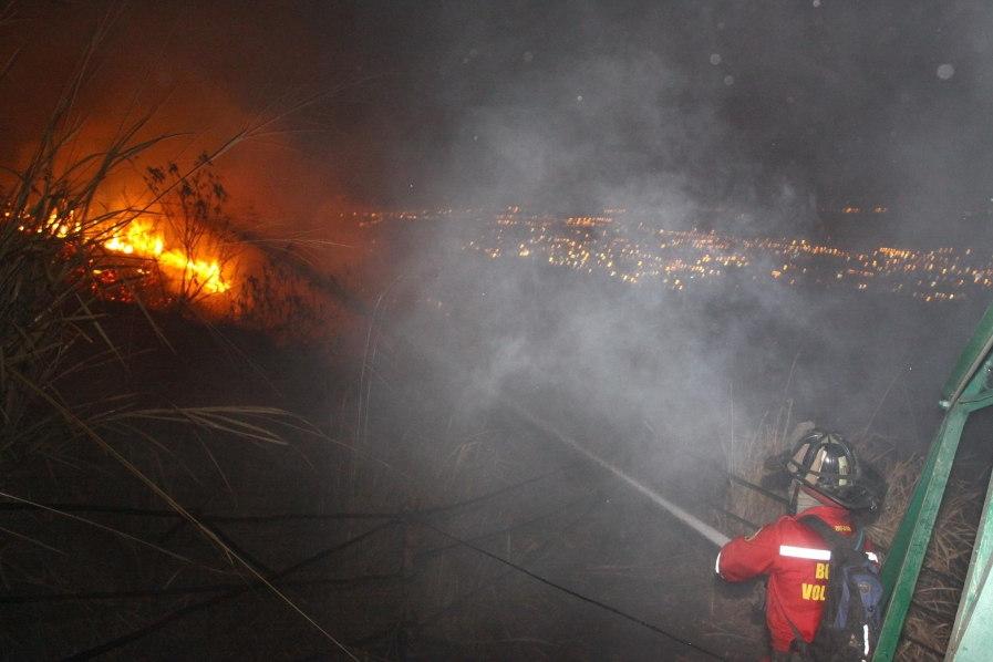 Incendio Las Tres Cruces 2009