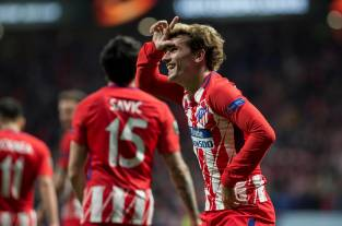 El Atlético de Madrid ejerce de favorito en los cuartos de final de la Europa League