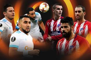 Atlético de Madrid Vs. Olympique de Marsella, una final de Europa League con presión