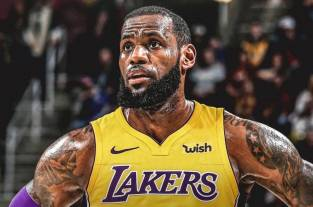 Debut con derrota para LeBron James con los Lakers ante los Nuggets