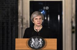 primera ministra británica, Theresa May