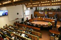 Audiencia demanda Acto Legislativo para la Paz