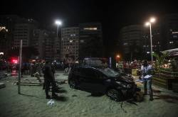 Atropello masivo en Copacabana, Brasil