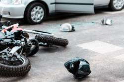 Accidente de tránsito Motocicletas