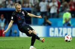 Domagoj Vida, defensor de Croacia