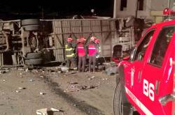 Accidente de tránsito Quito Ecuador