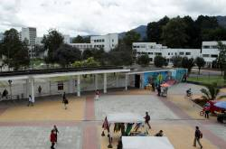 Vista de la Universidad Nacional de Colombia.