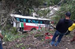 Accidente bus Sotracauca Inza