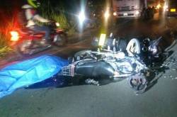 Accidente de motos Pradera