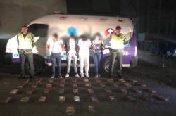 Cocaína en ambulancia
