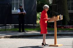 Theresa May, primera ministra de UK