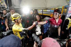 Egan Bernal, campeón virtual del Tour de Francia