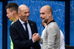 Zidane y Guardiola