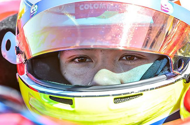 """El objetivo es estar en el top-3 de la Indy Lights"