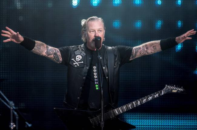 Metallica suspende varios shows de su gira porque James Hetfield ingresa a rehabilitación